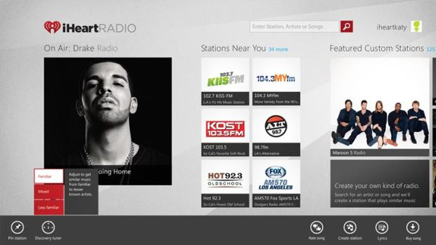 iHeartRadio - Windows RT Apps
