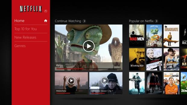 Netflix - Windows RT Apps