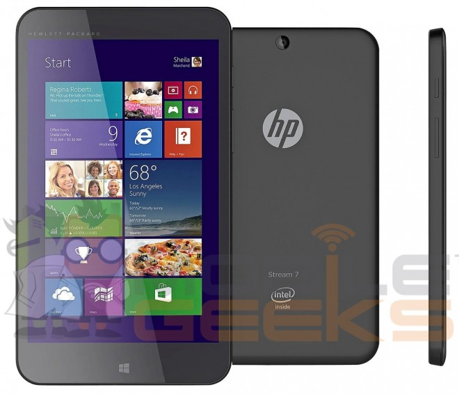 HP Stream 7 inch Windows 8 Tablet price specs release date leaked