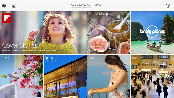 Flipboard App for Windows 10