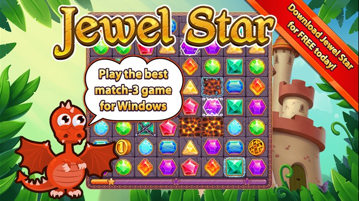 Jewel Star Game for Windows 10