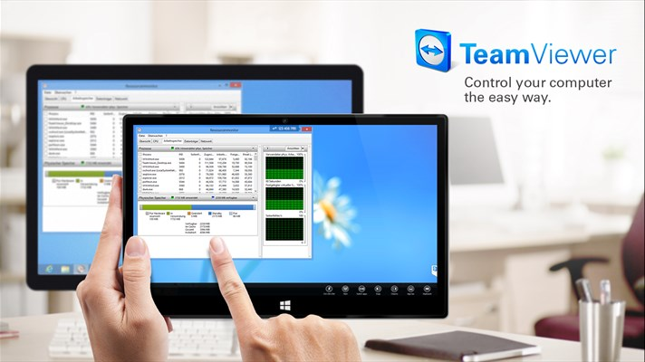 TeamViewer Touch App for Windows 10