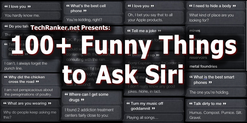 Funny Things To Ask Siri Siri Jokes Questions Tricks Video