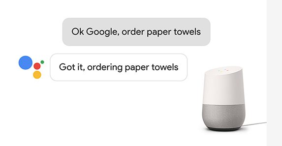 How to use Google Home to order things online