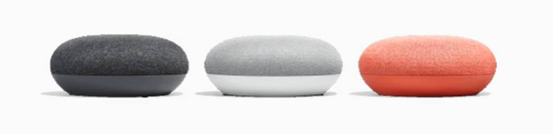 Google Home Mini - Three Colors