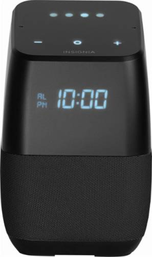 Insignia Voice Smart Bluetooth Speaker with the Google Assistant (NS-CSPGASP-B)